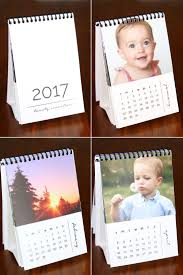 diy mini photo calendar w free printables