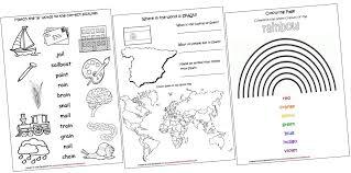 Diphthongs Worksheets Worksheets