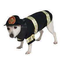 Fire Fighter Dog Halloween Costume