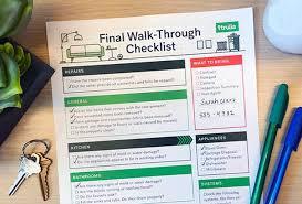 buyer home inspection checklist the final walk through checklist