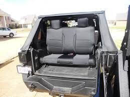 jeep jk 3rd row seat write up