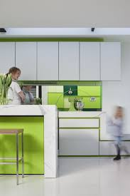 Modern Kitchen Colour Schemes Kitchen Appealing Warm Green Cabinet Color Idea For Modern
