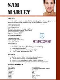 latest resume template 2016