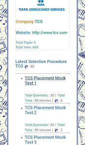 best images about freshers interview question tcs placement papers based online mocktest tcs latest selection procedure and interview questions and answers