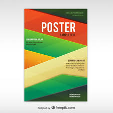 Backgrounds For Posters Free Geometric Abstract Poster Template Vector Free Download