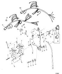 Wiring harness starter solenoid for mariner mercury 135 150 175