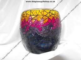 pink pattern tealight holder