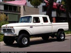 this 1966 ford crew cab is not only rare but unique he started with a rust free body mounted it on a chis and then added a sel drivetrain