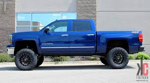 2014 gmc sierra lifted blue. 18x9 dropstars ds645 wheels goodyear tire fabtech lift and more on this 2014 silverado gmc sierra lifted blue