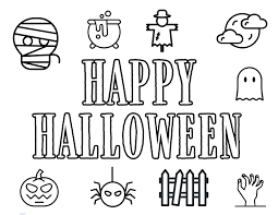 This means you can print and use them as many times as you'd like for yourself. Free Printable Halloween Coloring Pages Paper Trail Design
