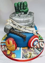 Superhero Cake Design Home Dream Cake Studio