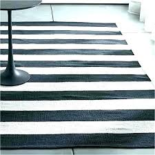white rug target s furry and black area striped