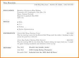 11 Resume Minor Happy Tots