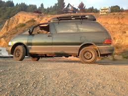 1995 Toyota Previa LE SC AllTrac Supercharged Lifted AWD Adventure ...