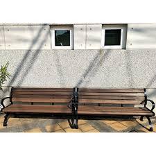 plastic lumber park bench outdoor furniture