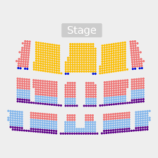Cheyenne Civic Center Seating Chart Riverdance 25th Anniversary Tour Tickets Wed May 6 2020