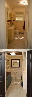 bathroom remodel before and after. Hallway Bathroom Remodel Before And After