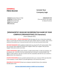 Templates For Press Releases Press Release Templates To Boost Your Content Marketing Pr