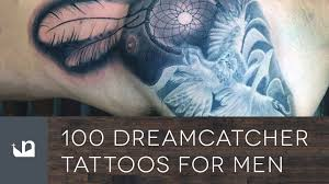 Dream Catcher Tattoo For Men 100 Dreamcatcher Tattoos For Men YouTube 28