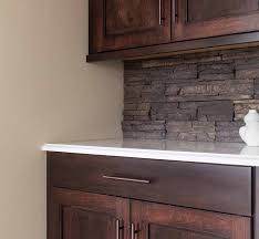 stone veneer kitchen backsplash. Fine Stone Cultured Stone Backsplash Kitchen Design Ideas And Veneer W