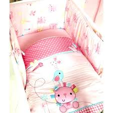 baby girls cot bedding baby bedding sets for girls baby duvet covers for crib graceful cot