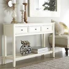 Wonderful Antique White Sofa Table B In Creativity Ideas