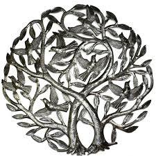 handmade x27 double tree of life x27 metal wall art 24 on white tree of life metal wall art with shop handmade double tree of life metal wall art 24 inch haiti