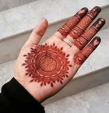 Simple Round Mehndi Design 20 Stylish Mehndi Designs For Durga Puja Navratri Mehndi