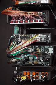 racks and prewires ultramedia inc 1 home theater smart it s very important for our racks to be wired neatly this is the back of
