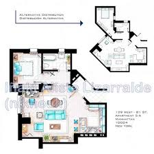 inaki aliste lizarralde an interior designer from northern spain loves to draw floor plans of houses and apartments from tv showovies