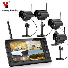 <b>Yobang Security Wireless</b> Video Surveillance System 7 Inch screen ...