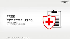 Medical Powerpoint Background Flat Medical Icon Medical History On A White Background