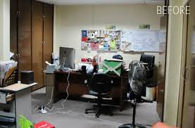 office makeover. Colorful Modern Makeover. Office Makeover L