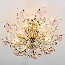 modern chrome gold crystal chandelier light fixtures tree shape guaranteed 100