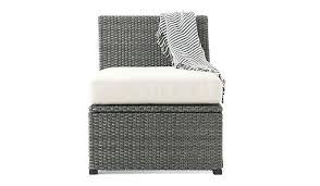 outdoor couches ikea a one seat section in dark grey handwoven plastic rattan outdoor sofas ikea outdoor couches ikea
