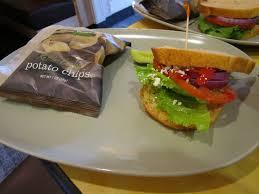 panera bread mediterranean veggie sandwich. Exellent Veggie Panera Bread Cafe  202873 Half Mediterranean Veggie Sandwich On