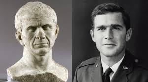 Wow check out the similarities between G.W. Bush and Julius Caesar - GeorgeWBushandJuliusCaesar