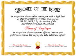 Star Of The Month Certificate Template Pin By Sandra Marsh On Employee Employee Awards Certificate