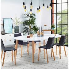 round dining table scandinavian to extensions Ø 120 cm olivia 120 220