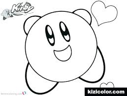 Kirby Coloring Pages To Print Coloring Pages Download This Page Free ...