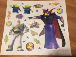Details About Buzz Lightyear Wall Stickers 22 Big Toy Story Decals Aliens Space Rockets Stars