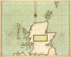 Sea Charts Scotland File A New Chart Of The Sea Coast Of Scotland With The