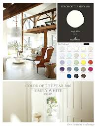 2016 Benjamin Moore Color of the Year: Simply White