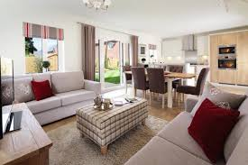Living Room Shows Awesome Redrow Homes Shows Us How Open Plan Living Doesn't Need To Mean