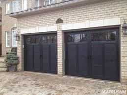 black garage doorsBlack Garage Doors With Windows  Wageuzi