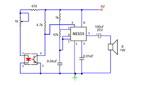 smoke detector or sensor circuit using 555 timer ic working smoke detector or sensor circuit using 555 timer ic working principle
