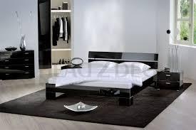 amazoncom baxton studio sabrina black modern bed with overstuffed