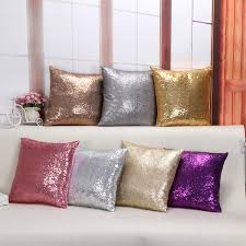 Small Picture Christmas Home Decor Fashion Luxury 4040cm Sequin Cushion Cover