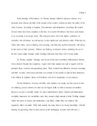 medieval philosophy essay 5