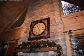log home christmas decorations jpg